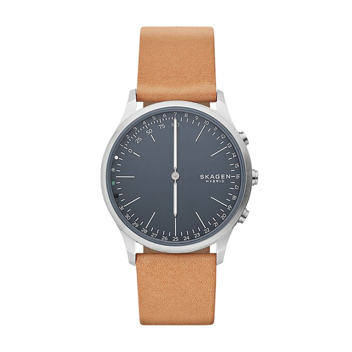 Hybrid Smartwatch Jorn Tan Leather Skagen