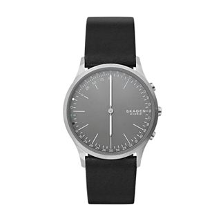 Jorn Connected Hybrid Smartwatch - Titan/Leder