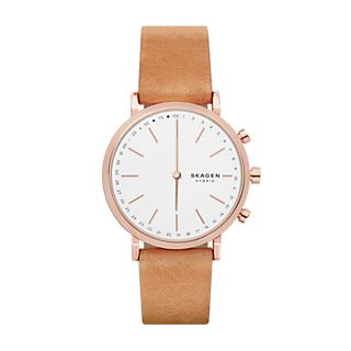 Hybrid Smartwatch - Hald Tan Leather