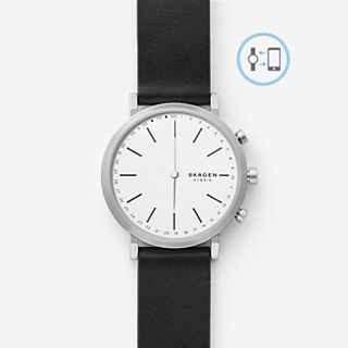 REFURBISHED Hald Connected Leather Hybrid Smartwatch