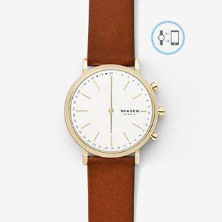 REFURBISHED Hybrid Smartwatch - Hald Brown Leather