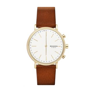 Hybrid Smartwatch - Hald Brown Leather