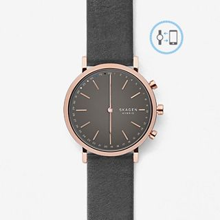 REFURBISHED Hybrid Smartwatch - Hald Gray Leather
