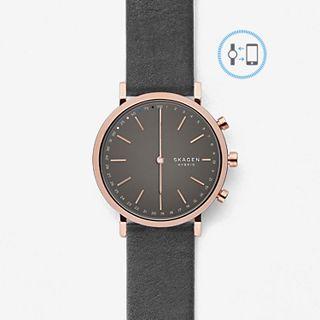 REFURBISHED Hybrid Smartwatch - Hald Grey Leather