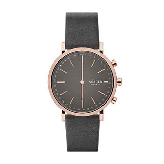 Hybrid Smartwatch - Hald Grey Leather