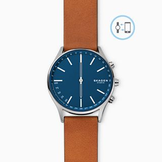 REFURBISHED Hybrid Smartwatch - Holst Titanium and Brown Leather