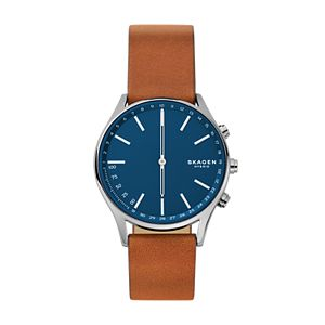 Hybrid Smartwatch - Holst Titanium and Brown Leather