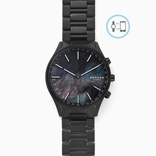 REFURBISHED Holst Black Titanium-Link Hybrid Smartwatch