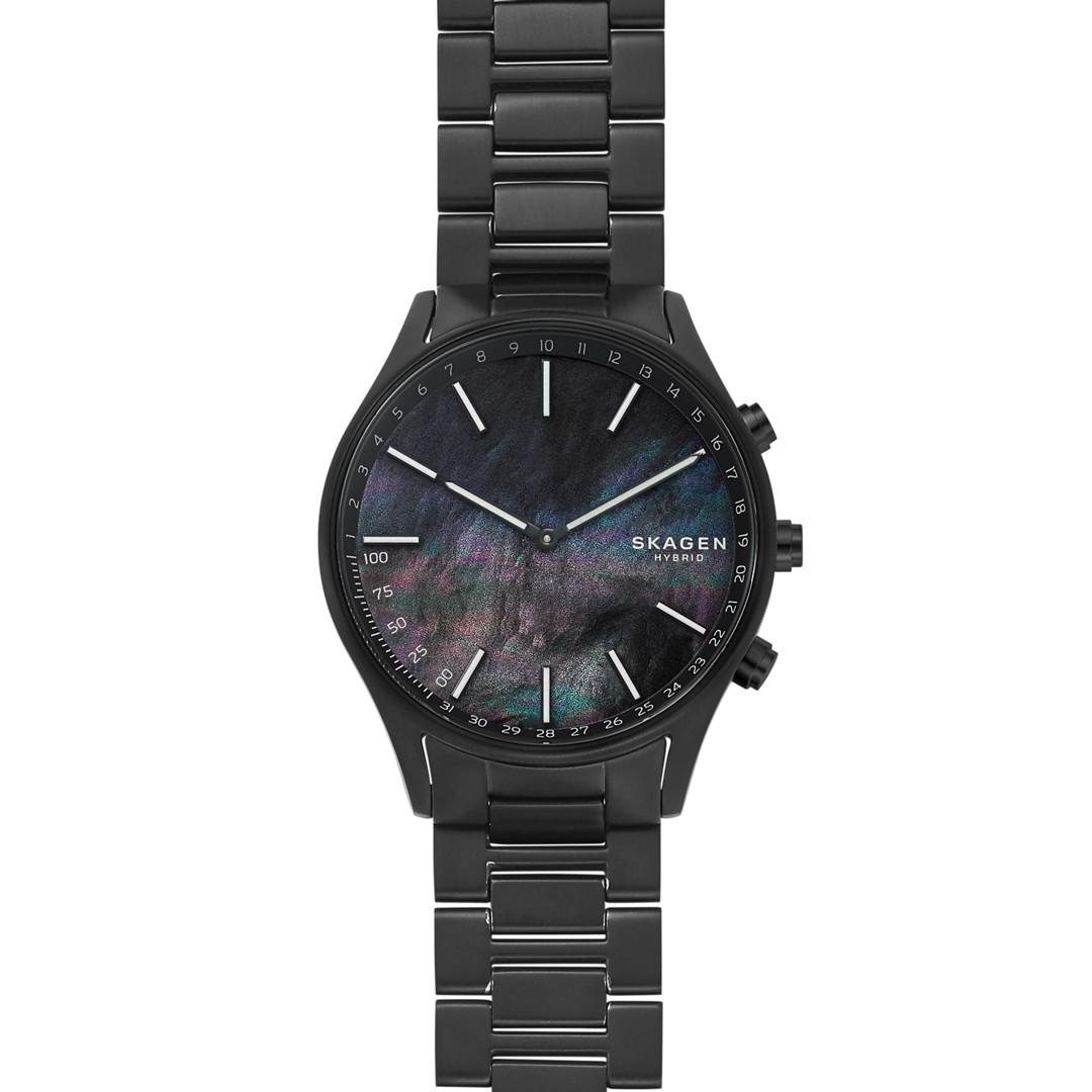 Holst Black Titanium-Link Hybrid Smartwatch  - SKT1312