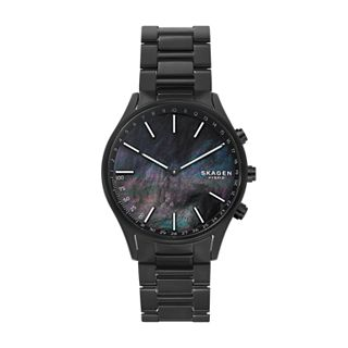 Holst Black Titanium-Link Hybrid Smartwatch