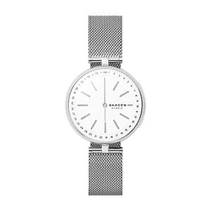 Hybrid Smartwatch - Signatur T-Bar Steel-Mesh