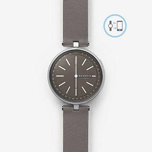REFURBISHED Hybrid Smartwatch - Signatur T-Bar Gray Leather