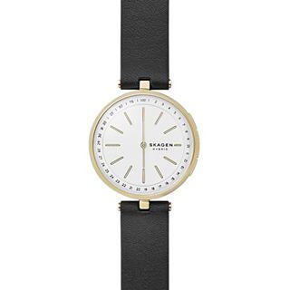 Hybrid Smartwatch - Signatur T-Bar Black Leather