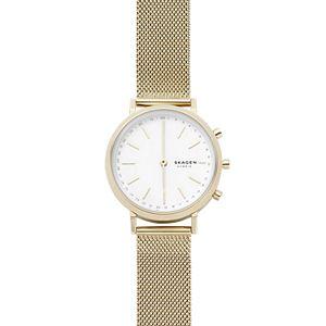 Hybrid Smartwatch - Mini Hald Gold-Tone Steel-Mesh
