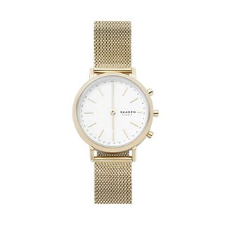 Hybrid Smartwatch - Mini Hald Gold-Tone Steel-Mesh