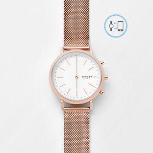 REFURBISHED Hybrid Smartwatch - Mini Hald Rose Gold-Tone Steel-Mesh