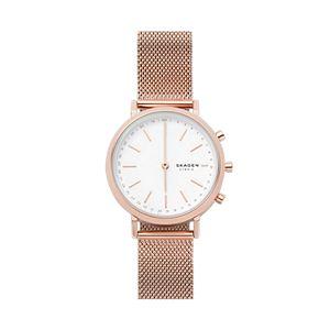 Hybrid Smartwatch - Mini Hald Rose Gold-Tone Steel-Mesh