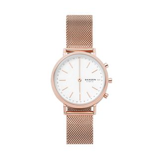 Hybrid Smartwatch - Mini Hald Rose Gold-Tone Steel-Mesh