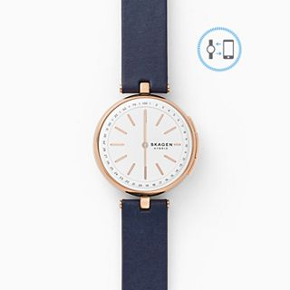 REFURBISHED Hybrid Smartwatch - Signatur T-Bar Blue Leather