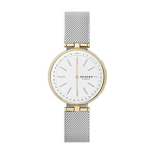 Hybrid Smartwatch Signatur T-Bar - Silk Mesh