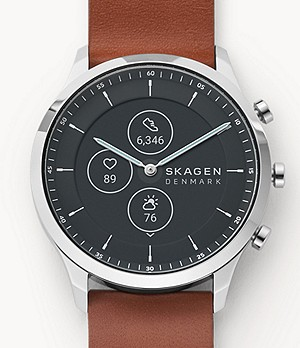 Hybrid Smartwatch HR - Jorn 42mm Brown Leather