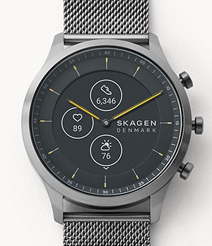 Hybrid Smartwatch HR - Jorn 42mm Gray Steel-Mesh