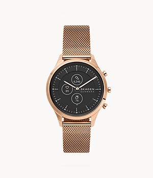 Hybrid Smartwatch HR - Jorn 38mm Rose-Tone Steel-Mesh