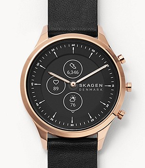 Hybrid Smartwatch HR - Jorn 38mm Black Leather