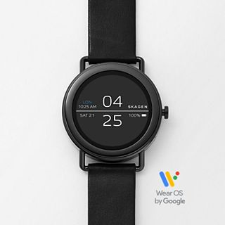 Smartwatch - Falster 1 Black Leather