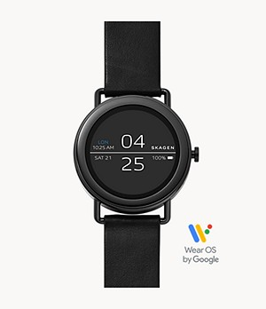 REFURBISHED Smartwatch - Falster 1 Black Leather