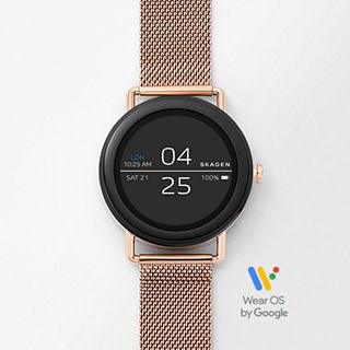 REFURBISHED Smartwatch - Falster 1 Rose Gold-Tone Steel-Mesh
