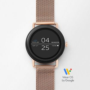 Smartwatch - Falster Rose Gold-Tone Steel-Mesh