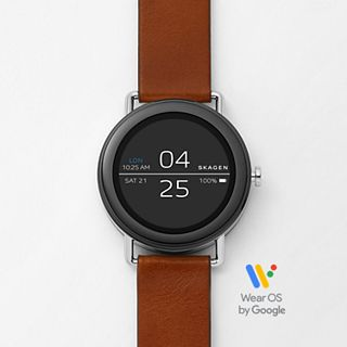 REFURBISHED Smartwatch - Falster 1 Brown Leather
