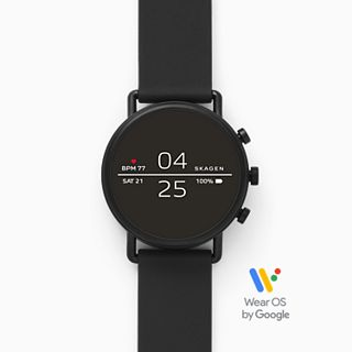 REFURBISHED Smartwatch - Falster 2 Black Silicone