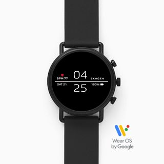 Smartwatch - Falster 2 Black Silicone