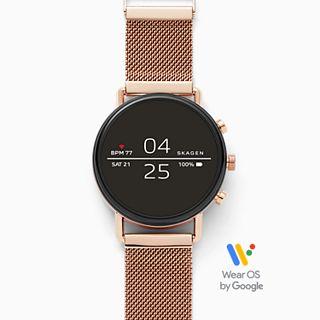 REFURBISHED Smartwatch - Falster 2 Rose-Tone Magnetic Steel-Mesh