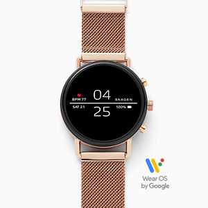 Smartwatch - Falster 2 Rose-Tone Magnetic Steel-Mesh