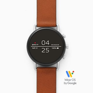 REFURBISHED Smartwatch - Falster 2 Brown Leather