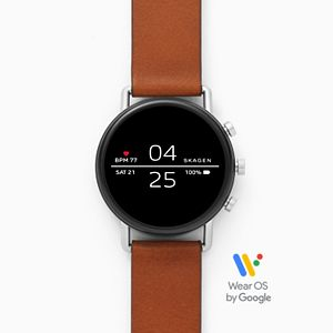 Smartwatch - Falster 2 Brown Leather