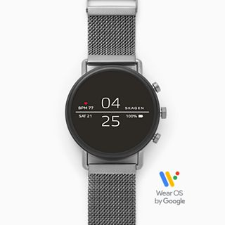 REFURBISHED Smartwatch - Falster 2 Gray Magnetic Steel-Mesh