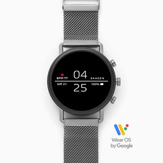 Smartwatch - Falster 2 Gray Magnetic Steel-Mesh