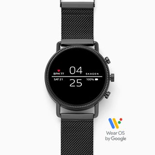 Smartwatch - Falster 2 Black Magnetic Steel-Mesh