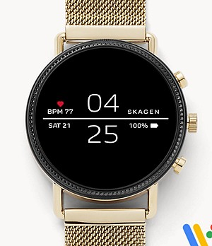 Smartwatch - Falster 2 Gold-Tone Mesh