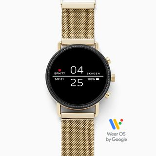 Smartwatch Falster 2 - Milanaise - Gold
