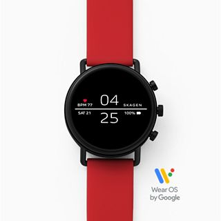 REFURBISHED Smartwatch - Falster 2 Red Silicone