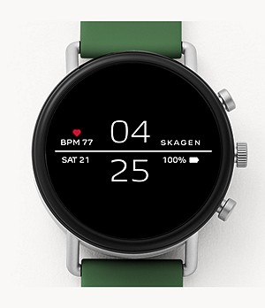 REFURBISHED Smartwatch - Falster 2 Green Silicone