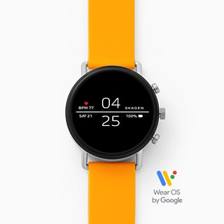 REFURBISHED Smartwatch - Falster 2 Yellow Silicone