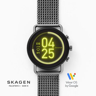 REFURBISHED Smartwatch HR - Falster 3 Gunmetal Gauge Mesh
