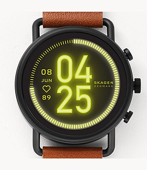 Smartwatch HR - Falster 3 Two-Tone Leather