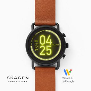 REFURBISHED Smartwatch HR - Falster 3 Two-Tone Leather
